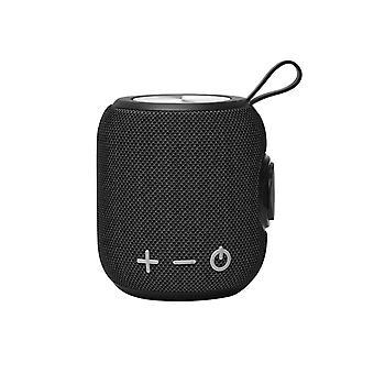 Portable Bluetooth Speaker Wireless Bass Column Waterproof Outdoor Speaker|Portable Speakers(Black)