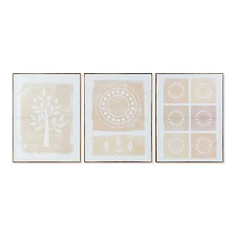 DKD Home Decor Dots Board (60 x 3 x 80 cm)
