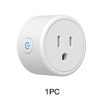 Frankever mini us wifi smart plug surge protector 110-230v voice control timer smart socket work with alexa google home tuya