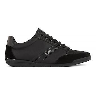 Hugo Boss Footwear Hugo Boss Saturn Lowp Mx Black Trainers