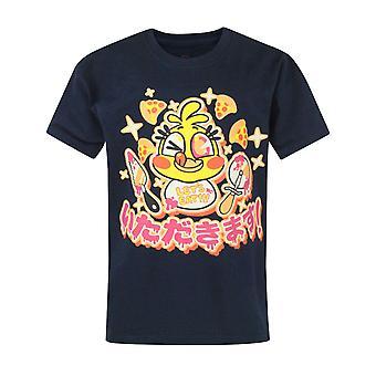 Five Nights At Freddys Official Childrens/Kids Chica Chicadakimasu T-Shirt