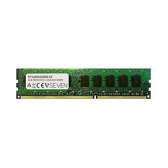 RAM-geheugen V7 V7128004GBDE-LV 4 GB DDR3