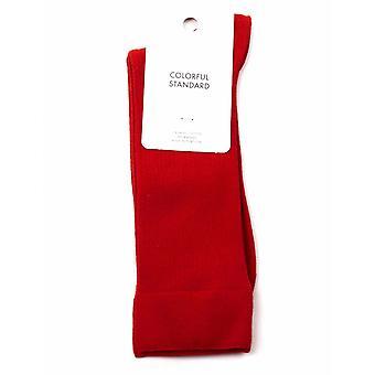 Colorful Standard Classic Organic Socks - Scarlet Red