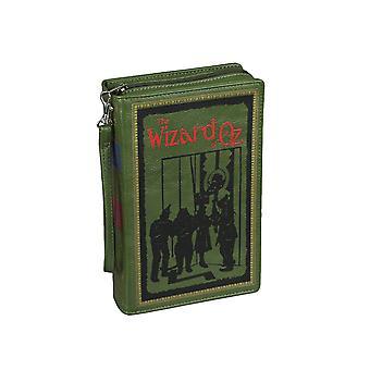 Grön vinyl Trollkarlen från Oz Bok Handväska Nyhet Koppling Handväska Crossbody Bag L Frank Baum