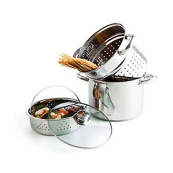 Cookware Quid (3 pcs) Stainless steel
