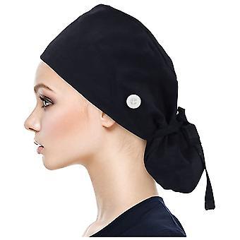 Unisex Surgical Cap, Women Long Hair Scrubs Anti-dirty Hats