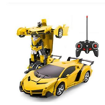 Remote Control Car Transformers Sports Car Modified Robot Model Deformation Car Toy Super Gifts For Boys Child