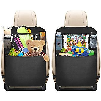 Car Seat Organiser With Tablet Holder 2pcs