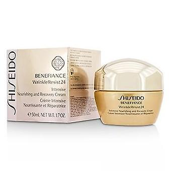 Shiseido Benefiance Wrinkleresist24 Intensive Nourishing & Recovery Cream - 50ml/1.7oz