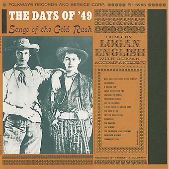 Logan English - Days of '49: Songs of Gold Rush [CD] USA import