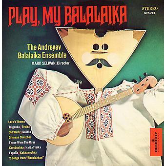 Andreyev Balalaika Ensemble - Balalaika! [CD] USA import