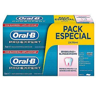 Oral-b Pro-expert Sensibilidad&blanqueante Dentifrico Set 2 X 75ml Unisex