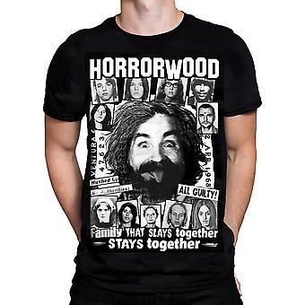 Knd - horrorwood - mens t-shirt - black