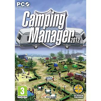 Camping Manager PC DVD Game