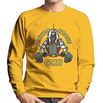Techno Horse Gym Bravestarr Men's Sweatshirt