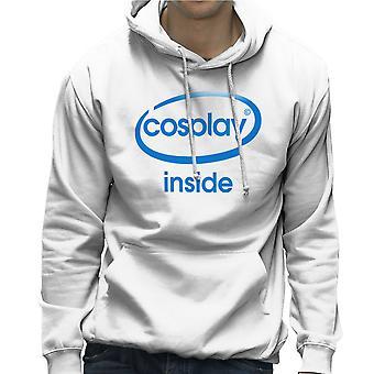Cosplay inne Intel Logo kostyme rollespill Hettegenser