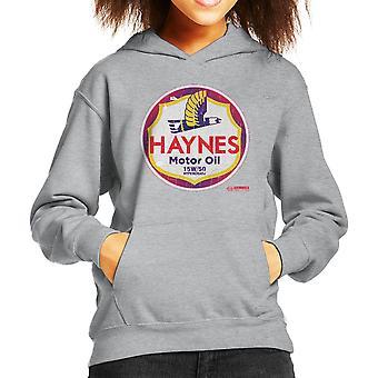Haynes Brand Richfield Motor Oil Kid's Hooded Sweatshirt