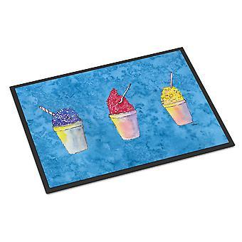 雪玉と Snowcones 屋内または屋外マット玄関マット 24 × 36