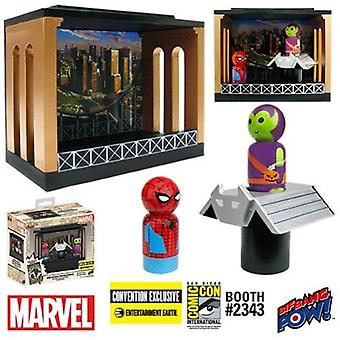 Spider-Man & Green Goblin Pin Mate Diorama Ee Excl USA import