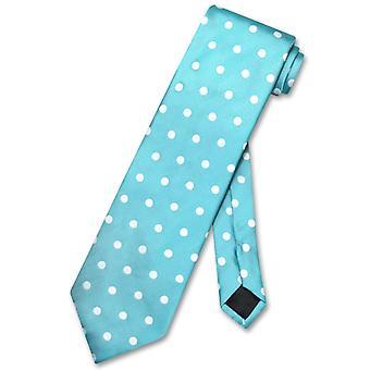 Vesuvio Napoli halsduk w / prickar Design mäns hals slips