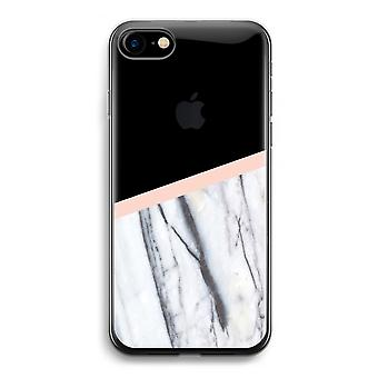 iPhone 7 transparente Fall (Soft) - A Hauch von Pfirsich