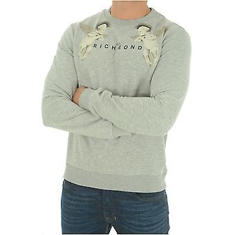 Sweatshirt cotton Printe Jaciara - John Richmond