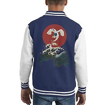 Pokemon Ligua Harmony Kid's Varsity Jacket