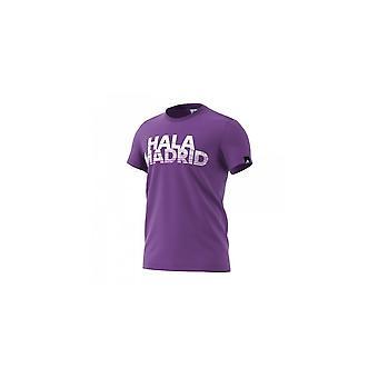Adidas Real Madryt graafinen Tee parempi M AZ5356 jalkapallon vuoden miehistä t-paita