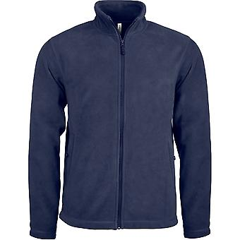 Kariban heren Full Zip Microfleece jas