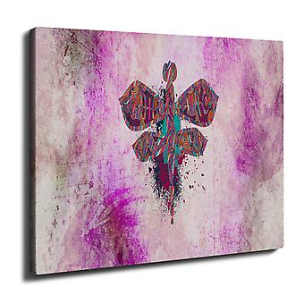 Insect Fly Nature Animal Wall Art Canvas 40cm x 30cm | Wellcoda