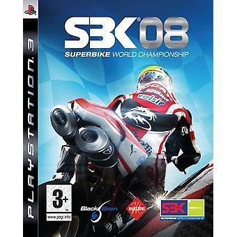 SBK-08 World Superbike 2008 (PS3) - Uusi