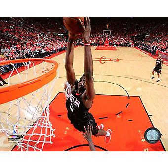 Clint Capela 2017-18 Playoff toiminta Photo Print