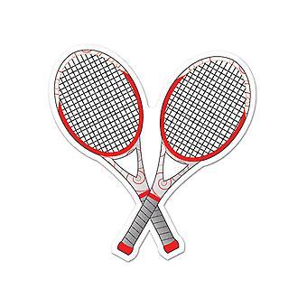 Теннисные ракетки вырез 10»