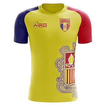 2018-2019 Andorra Hem Concept fotbollströja