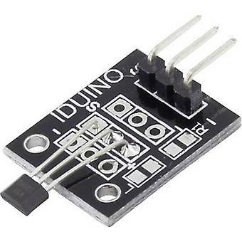 Iduino 1485327 Hall effect sensor Suitable for (single board PCs) Arduino