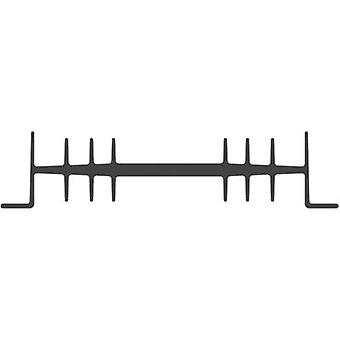 """פישר אלקטרונית SK 01 75 SA-CB כיור חום 2.3 K/W (L x W x H) 75 x 111 x 26 מ""""מ"""