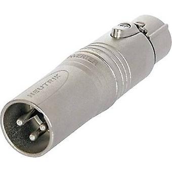 Neutrik NA3M5F XLR adapter XLR plug - XLR socket 1 pc(s)