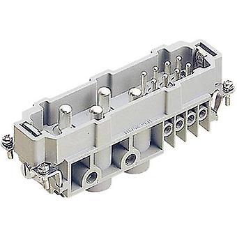 Harting 09 38 012 2601 Pin-Einset Han® Com 4 + 8 + PE Schrauben 1 Stk.(s)