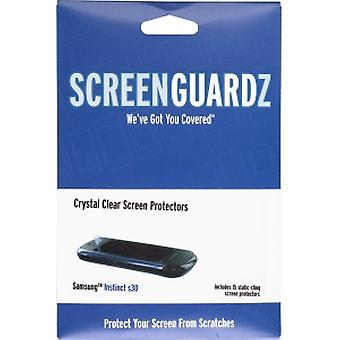 ScreenGuardz Ultra-Slim Screen Protector for Samsung Instinct S30 SPH-M810