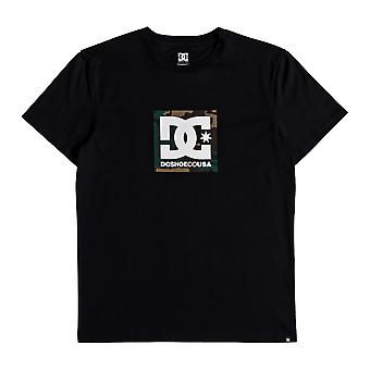 DC Camo Boxing Short Sleeve T-Shirt in Black