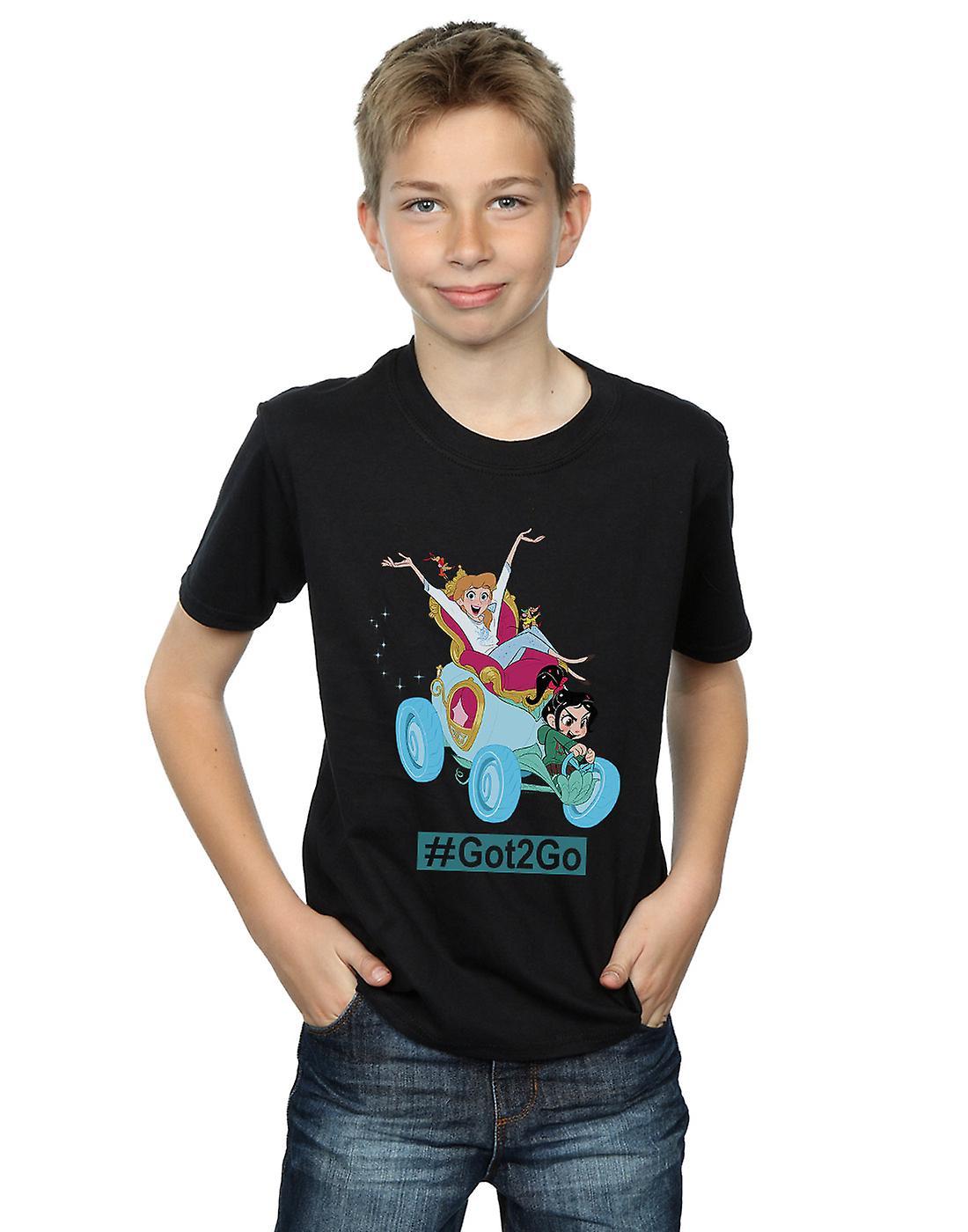 Disney Boys Wreck It Ralph Cinderella And Vanellope T-Shirt