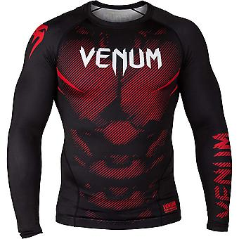 Venum No-Gi 2.0 Long Sleeve MMA Compression Rashguard - Black