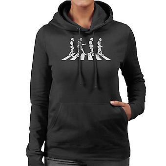 Original Stormtrooper Abbey Road Damen Sweatshirt mit Kapuze