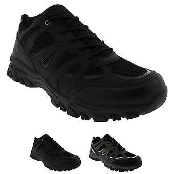 Mens Gym Shock Absorbing Fitness Walking Running Lightweight Trainers UK 6-14