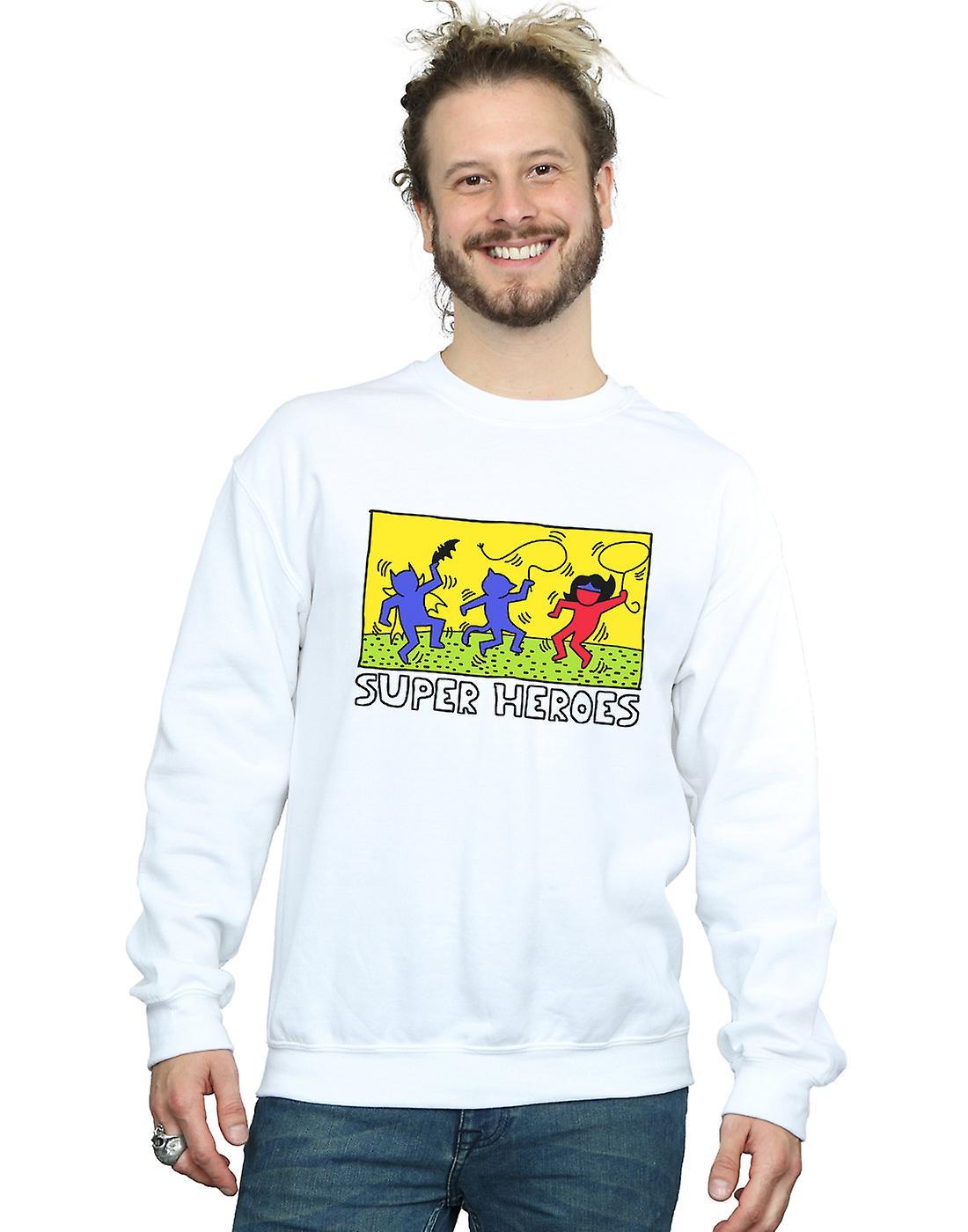 DC Comics Men's Batman Pop Art Sweatshirt