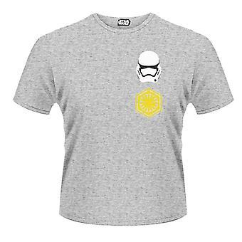 Logo Star Wars Stormtrooper modèle arrière T-Shirt