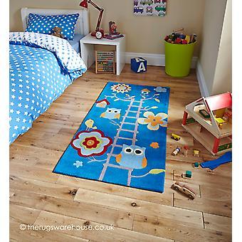 Owl House Blue Rug