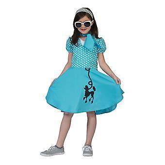 Pudel klänning blå, Large