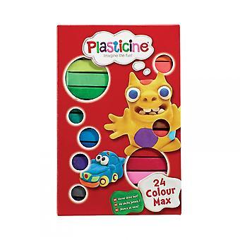 Flair Plasticine 24 conjunto de cores