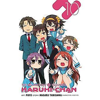 Melankoliskt av Suzumiya Haruhi-Chan, Vol. 10
